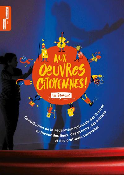 Visuel de la contribution des Francas  en faveur des lieux, des acteurs, des actrices et des pratiques culturelles