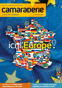 Couverture Camaraderie 317 - Ici, l'Europe