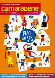 Couverture Camaraderie 318 - Place aux arts