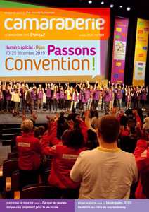 Couverture Camaraderie 328 - Passons convention !