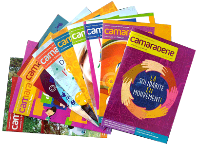 Collection Camaraderie magazine emblématique des Francas