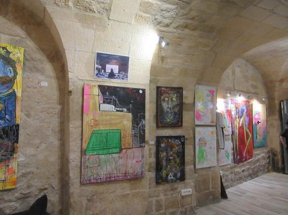 Exposition d'oeuvre d'artistes
