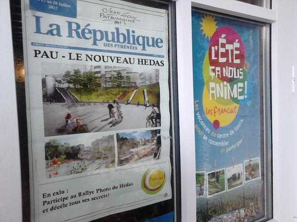 Francas-Rallye photo pour découvrir le quartier historique du Hédas