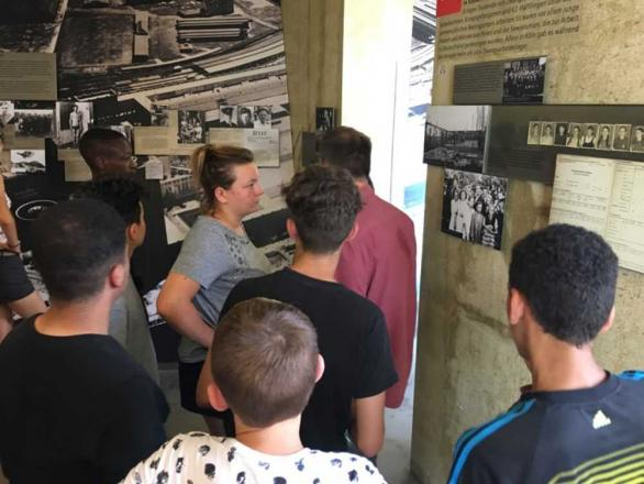visite de la Gestapo. Cologne