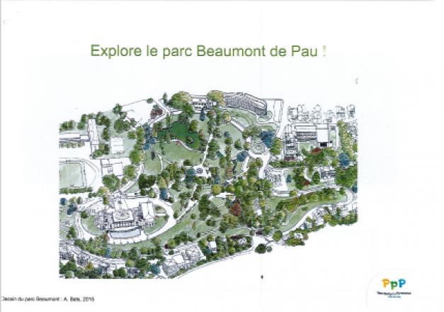 Francas-Le grand jeu du parc Beaumont avec Pau, ville d'art et d'histoire