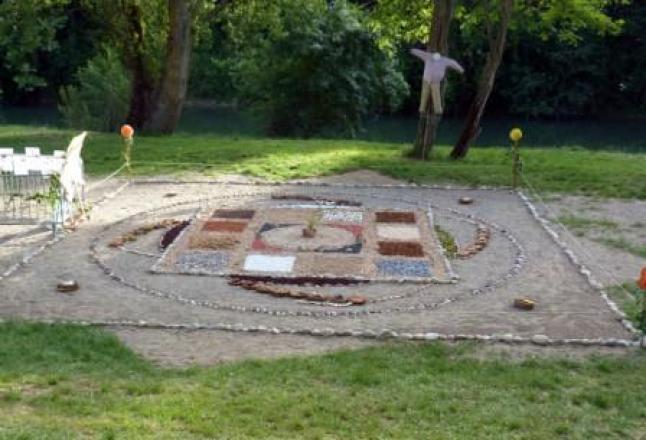 création collective d'un Jardin du Oui