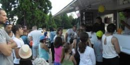 Dégustation de smoothies préparées par les familles au centre de loisirs d'Ingré (45)
