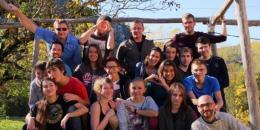 photo de groupe de l'échange Erasmus+ France Pologne
